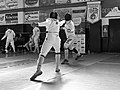 2nd Leonidas Pirgos Fencing Tournament. Ahmed Alhoussain and Matthew Baker.jpg