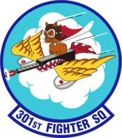 301st Fighter Squadron - AETC - Emblem.png