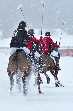 30th St. Moritz Polo World Cup on Snow - 20140201 - Cartier vs Ralph Lauren 9