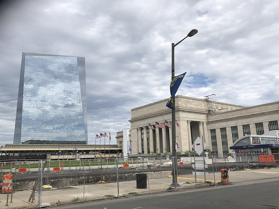 30th Street Station and Cira Tower