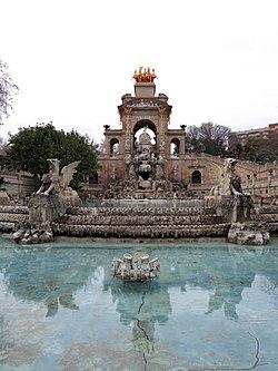 347 Parc de la Ciutadella, font de la Cascada.JPG