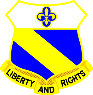 177th Armored Brigade (United States) - Image: 349 Inf Rgt DUI