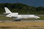 3C-LGE Dassault Falcon 50 FA50 - Equatorial Guinea Government (21229320642).jpg
