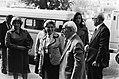 3e Proces tegen Pieter Menten in Rotterdam aankomst van getuigen, Bestanddeelnr 930-8343.jpg