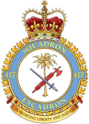 417 Combat Support Squadron - Image: 417Sqn Crest