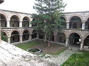 Turks in the Republic of Macedonia - The Kuršumli Han is one of many Turkish landmarks in the Old Bazaar, Skopje