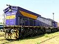 5500HP WDG5 Locomotive christened as Bheem - Flickr - Dr. Santulan Mahanta.jpg