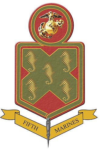 5th Marine Regiment (United States) - 5th Marine Regiment insignia