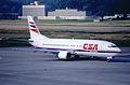 60ac - CSA Czech Airlines Boeing 737-45S; OK-EGP@ZRH;17.06.1999 (5257301506).jpg