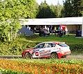 61 Krzysztof Oleksowicz and Krzysztof Geborys, POL POL, Krzysztof Oleksowicz Subaru Impreza WRX Sti R4.jpg