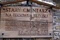 """6872vik Zakopane, cmentarz """"Na Pęksowym Brzyzku"""". Foto Barbara Maliszewska.jpg"""