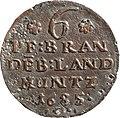 6 Pfennige, Landesdenkmalamt Berlin, Ausgrabung U5, 3122 – 6135, Vorderseite.jpg