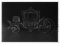 7-glas statsvagn, berlinare, förgylld, skulpterad och rnålad i rokoko. Tillverkad c. 1761 - Livrustkammaren - 9884-negative.tif