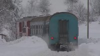 File:760 mm narrow gauge railway - Bulgaria. Winter tale, short video. January 2012.webm