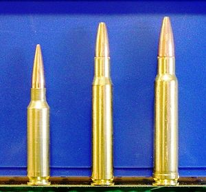 .338 and 30-06 cartridge