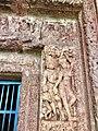 7th century amorous couples in kama mithuna and Vishnu avatar reliefs, Lakshmana Hindu temple, Sirpur Chhattisgarh India 4.jpg