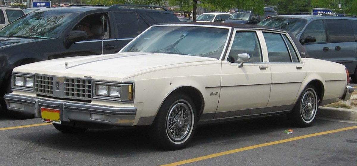 Px Oldsmobile Delta on 1985 Buick Park Avenue