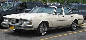 GM B platform - Image: 81 85 Oldsmobile Delta 88
