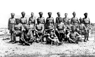 90th Punjabis - Image: 90th Punjabis, Thal, 1919