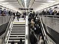 96th Street SAS stairs and escalator 2017-01-01.jpg