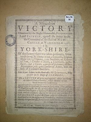 Sir John Bright, 1st Baronet - Pamphlet held by Wakefield Libraries Local Studies collection