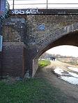 A.V. Roe 1877 - 1958 - Railway arches at Walthamstow Marsh Railway Viaduct (up side).jpg
