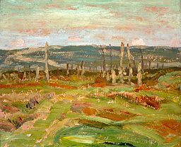 A.Y. Jackson - Vimy Ridge from Souchez Valley.jpeg