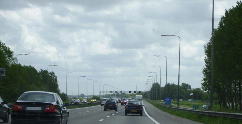 File:A2 between Amsterdam and Utrecht.jpg