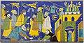 AD 15118 Louvre Lens-Panneau de revêtement mural, procession de la communauté armeniénne à Ispahan.jpg