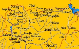 Hausa Kingdoms former country
