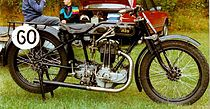 "AJS G6 ""Big Port"" uit 1926"