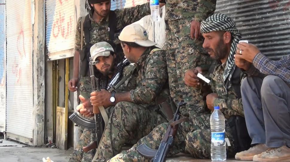 ASL et YPG Tall Abyad juin 2015