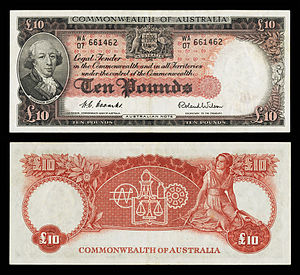 AUS-32-Commonwealth Bank of Australia-10 Pounds (1954–59).jpg