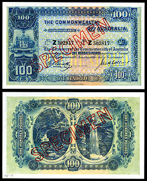 AUS-9c-Commonwealth of Australia-100 Pounds (1918).jpg