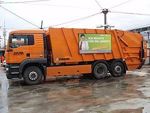 Muncich municipal waste disposal company, garb...
