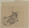 A Cat Resting on All Fours, Seen from Behind MET 1995.494.jpg