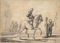 A Mounted Grey Horse Being Schooled in Piaffe MET DP829457.jpg
