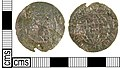 A Post Medieval copper alloy coin, Continental. - (FindID 236771).jpg
