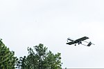A U.S. Army RQ-7 Shadow unmanned aerial vehicle assigned to the 2nd Brigade Combat Team, 82nd Airborne Division flies over a training area at Fort Bragg, N.C., June 26, 2013, during Joint Operational Access 130626-A-DP764-281.jpg