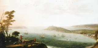 A View of Falmouth Harbour, circa 1678