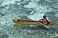 A man canoeing in Raja Ampat, Papua; December 2017.jpg