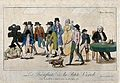 A parade of wretched, smallpocked people walk away from a do Wellcome V0011692.jpg