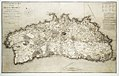 A topographical map of the island of Minorca geometrically survey'd by the Royal Engineers, while it remained in the possession of the French during the last war RMG K0950.jpg