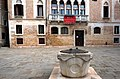 A well head on square Campo Bandiera e Moro, 3608, Venezia VE, Italy.jpg
