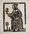 A witch holding a plant in one hand and a fan Wellcome V0025806ET.jpg