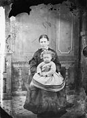 A woman and a child NLW3364671.jpg