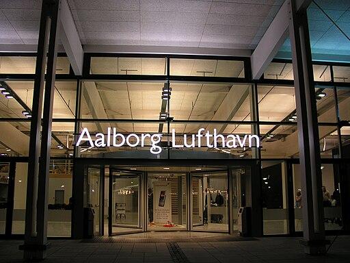 Aalborg Lufthavn indgang