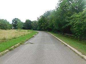 Niagara Scenic Parkway - Abandoned ramps from the Niagara Scenic Parkway to Whirlpool Street and NY 182 in Niagara Falls
