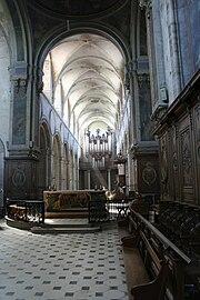 Abbaye de Mondaye - la nef