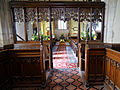 Abbess Roding - St Edmund's Church - Essex England - chancel arch screen from chancel.jpg